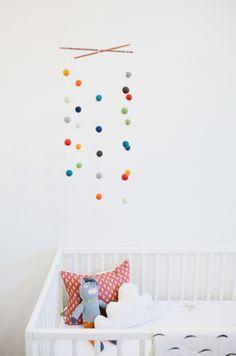 Rainbow Colors Pop in Simple Sweet White Nursery   The Stir
