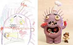 Monster Project drawing Katie Johnson