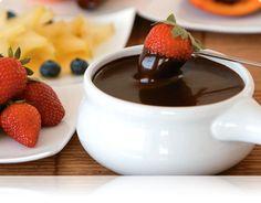 Fondue Gelado de Chocolate- Zero açúcar