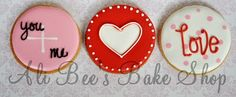 Ali Bee's Bake Shop: Valentine's Cookies...loads of them
