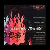 carmen jones poster...saul bass