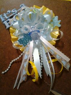 Construction Baby Shower   Craftilicious!: DIY   Baby Shower Corsages
