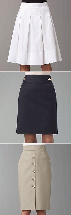 Šivati suknju.  Mnoge ideje i uzorak suknja