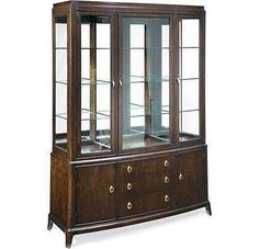 Thomasville Furniture Studio 455 Dining room China Cabinet 45521-425