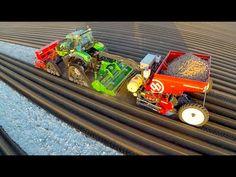 Potato Planting    Deutz-Fahr Agrotron 7250 TTV on Row-Crop Tracks + Dew...