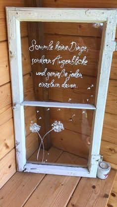 Deko, Garten, shabby chic, Muttertag, alte Fenster in Bayern - Kastl b Kemnath Mothers Day Gifts From Daughter Diy, Mothers Day Crafts For Kids, Old Windows, Antique Windows, Vintage Windows, Shabby Chic Decor, Ladder Decor, Diy And Crafts, Pergola