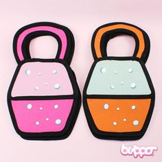 2D Cartoon Handbag (model 5)