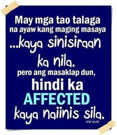 Inggit Quotes and Taray Quotes | Tagalog Quotes