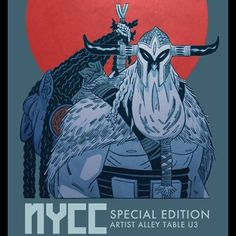 Doors are about to open at Special Edition NYC. I'll be at table U3 in artist alley debuting my new book, Head Lopper 2: The Wolves of Barra
