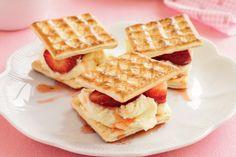 Strawberry & Mascarpone Wafers Recipe - Taste.com.au