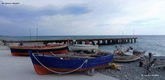 Trebisacce e l'alto ionio fra cielo, mare, pontile e la marginalizzazione della pesca costiera artigianale. Ph. Salvatore Martilotti