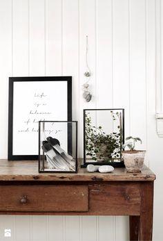 Szklana latarnia - zdjęcie od MyBaze.com - Salon - Styl Skandynawski - MyBaze.com