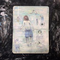 SKETCHBOOK/ 2012- Moleskine sketchbook - 9/14 cm #drawing #pen #mixedmedia #sketchbook #sketchbookart #sketchbookdrawing #portraitsketch #carnetdecroquis #moleskineart #figurativeart #lifedrawing #art #mixmedia #artwork #illustration #art_collective #drawanyway #dessindujour #dessin #アート #素描 #艺术 Notebooks, Journals, Moleskine Sketchbook, Portrait Sketches, Life Drawing, Figurative Art, Illustration Art, Drawings, Artwork
