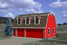 Garage Plan 94348 | Plan with 554 Sq. Ft., 1 Bedrooms, 1 Bathrooms, 3 Car Garage at family home plans