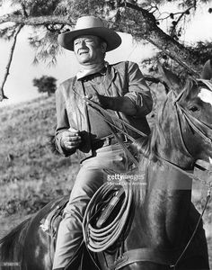 John Wayne on the set of ' Chisum' directed by Andrew V. McLaglen in 1970 in Durango, Mexico. Description from gettyimages.com. I searched for this on bing.com/images