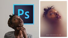 Photoshop Tutorial | Faded Blur Photo Effect for Poster Design #photographytutorials