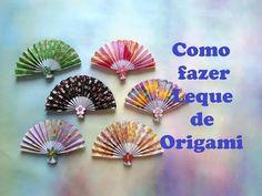 扇子 折り紙 fan origami - YouTube