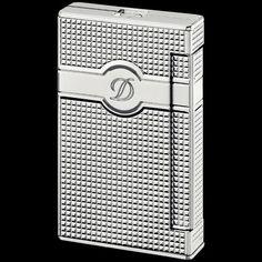 S.T. Dupont Ligne 2 Torch - Diamond Heads - Palladium Finishes