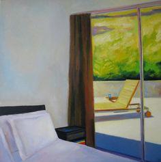 """Leva Baklane; Oil, 2010, Painting """"""""Sunny day""""."""""""