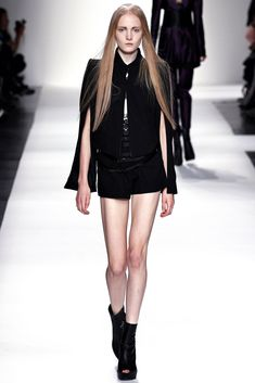 Ann Demeulemeester Spring 2013 Ready-to-Wear Fashion Show - Maja Salamon (Next)