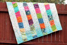 Moda Bake Shop: The Crinkle Quilt (baby quilt) Quilting Tutorials, Quilting Projects, Sewing Projects, Serger Projects, Quilting Ideas, Modern Quilting, Craft Tutorials, Sewing Tutorials, Sewing Ideas