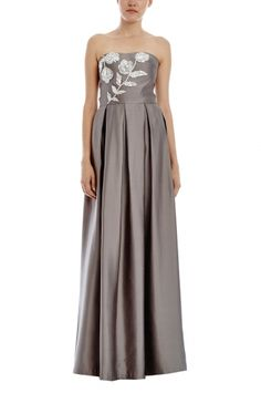 Forget Me Not Strapless Gown from RAOUL