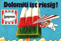 Langnese Ice Lolly 70er Dolomiti