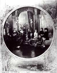 minent Women:America's most Distinguished Women Authors, photographed by Norman Studios, 1884.