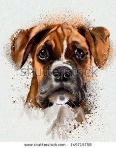 stock-photo-watercolor-animal-collection-dog-149715758.jpg (368×470)