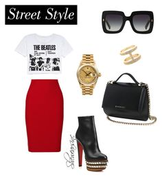 Untitled #41 by kisses4everrr on Polyvore featuring polyvore, fashion, style, Retrò, Roland Mouret, Christian Louboutin, Givenchy, Rolex, gorjana & griffin and Dolce&Gabbana