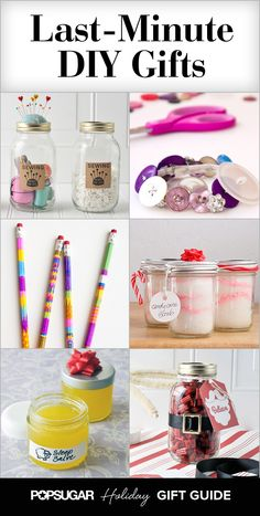 25 Last-Minute DIY Gifts That You Can Whip Up in No Time