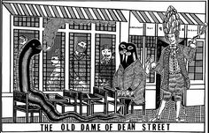Relaunched in 2012 by the Hart Brothers, with Jeremy Lee in the kitchen, the historic Quo Vadis restaurant in London's Soho serves seasonal British food for breakfast, lunch and dinner. Soho, Style Inspiration, London, Bar, Composition, Restaurants, Illustrations, Dibujo, Diners