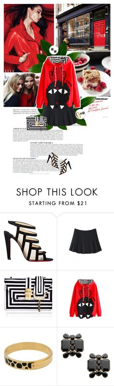 """""""Beautiful Halo X"""" by dreamer-ena ❤ liked on Polyvore featuring Anja, Christian Louboutin, Marc by Marc Jacobs, Dsquared2, Lipsy and bhalo"""
