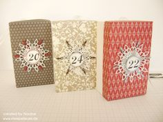 Adventskalender Advents calendar Stampin Up