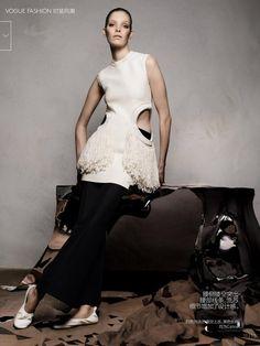 A Cut Above (Vogue China)