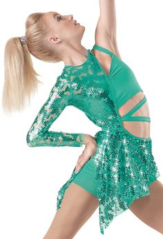 I like the shape of the sequined part. Maybe with an additional strap around the waist with sequins too.