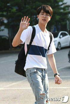 Is he even real?#Kim soekjin ❤