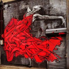 "Dance girl! Dance!  ""@OnlyVesna: ""@StreetArtEyes1: by Zimer in NYC #streetart pic.twitter.com/V70aLHYu07""Beautiful ..."""