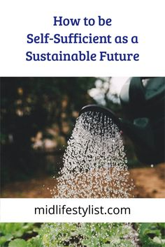 How to be self sufficient - a comprehensive guide to a sustainable lifestyle when you retire.  What to consider when you are planning to become self sufficient. Being self-sufficient means being able to provide for most of your own needs including energy, water and food supplies so that you don't have to rely on outside sources.  Read more at the link
