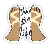 Chaco Tan Life Sticker