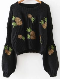 SHARE & Get it FREE | Pineapple Embroidered SweaterFor Fashion Lovers only:80,000+ Items • New Arrivals Daily Join Zaful: Get YOUR $50 NOW!