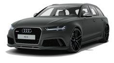 Audi RS6 Avant matte grey