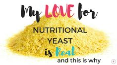 If you follow me on Instagram, you know that nutritional yeast is a staple in our kitchen. I use it almost daily and there are so many different ways to incorporate it into your diet. If you've been noticing this in all of my insta story recipes, and wondering what exactly it is and some...