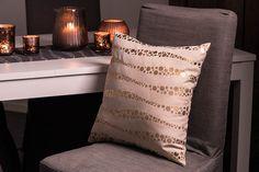 #blackdesign #textiles #pillow #gold #diningroom