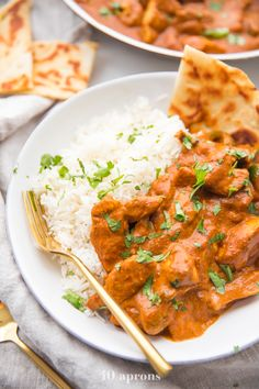 This is the best chicken tikka masala recipe ever, and it's so rich and perfectly spiced. A double caramelization process produces a chicken tikka masala that tastes just like the best restaurant-style dish. Best Chicken Tikka Masala Recipe, Chicken Masala, Chicken Satay, Healthy Foods To Eat, Healthy Recipes, Healthy Appetizers, Delicious Recipes, Appetizer Recipes, Free Recipes