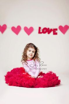 Simple V-day pose mini session valentines day... side note:thinking my niece needs that skirt!