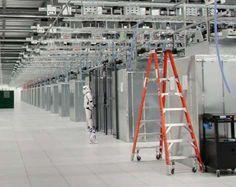 Google has a sense of humor using a stormtrooper to guard data.