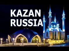 Kazan meaning 'cooking pot' in Tatar. Kazan is one of Russia's oldest cities, located on the Volga River, 820 km away from Moscow. Russia, Tourism, History, World, Sports, Youtube, Travel, Turismo, Hs Sports