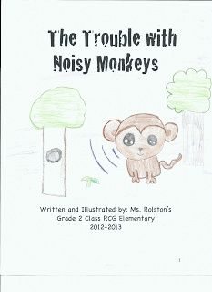The Perks of Teaching Primary By: TheWriteStuff: The Trouble With Noisy Monkeys - New Class Book #sharethewealth #aneducatorslife