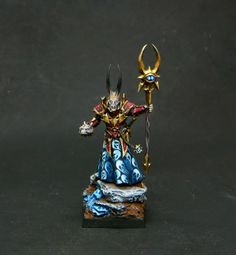 Chaos Warriors army, Ghost theme: Sorcerer Lord